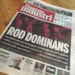 Dagens Industris förstasida den 4 oktober