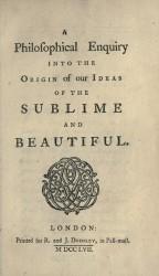 Edmund Burke | A Philosophical Inquiry