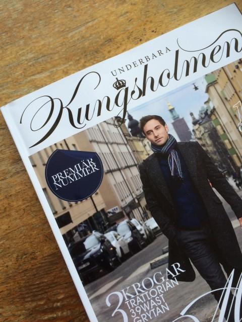 Premiär för magasinet Underbara Kungsholmen.